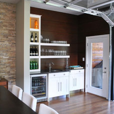 Industrial Kitchen by Tanner Vine - 2Go Custom Kitchens Inc