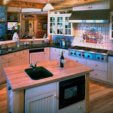Traditional Kitchen by Teton Heritage Builders