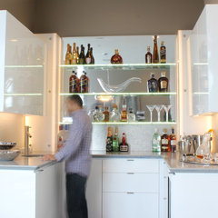 modern kitchen by MN Design by Mauricio Nava