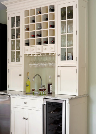 American Traditional Kitchen by Heartwood Kitchens