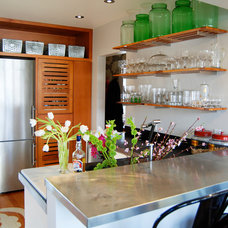 Contemporary Kitchen by Zinc Art + Interiors