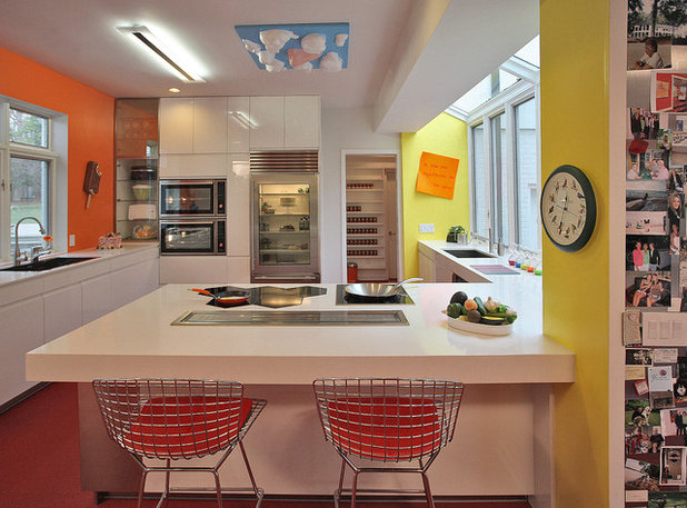 Contemporary Kitchen by Kenneth M Wyner Photography Inc