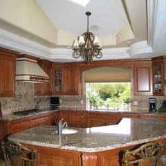 mediterranean kitchen by Barber Builder's