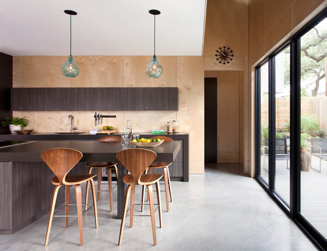 Contemporary Kitchen by Webber + Studio, Architects