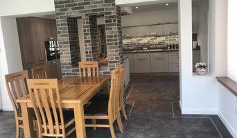 Bardolino Oak and Matt Kashmir Kitchen