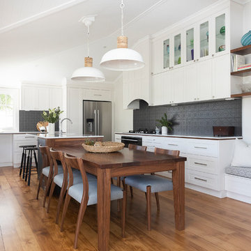 Bardon kitchen and living spaces