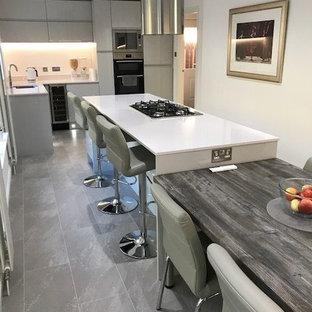 Cucina con top in quarzite Glasgow - Foto e Idee per Ristrutturare e ...