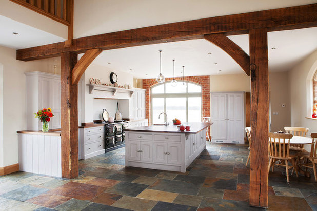 Low Ceiling Farm Kitchen Cabinets