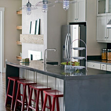 Industrial Kitchen by Barn Light Electric Company
