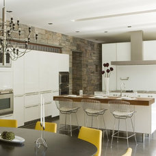 Contemporary Kitchen by Legacy Construction Northeast LLC