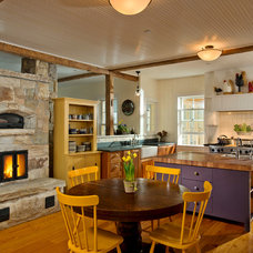 Farmhouse Kitchen by Phinney Design Group