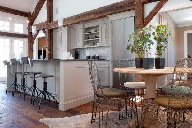 Farmhouse Kitchen by Arturo Palombo Architecture