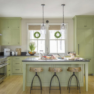 75 Most Por Kitchen with Green Cabinets Design Ideas for 2019 ... Kitchen Designs With Green Cabinets on green construction design, green marble design, green japanese kitchen design, green kitchen oak cabinets, green kraftmaid cabinets, green bedroom design, green kitchen cabinet paint colors, green kitchen interior design, green kitchen design ideas, green storage cabinets, green kitchen cabinet doors, green bathroom design, green cabinetry, green kitchen appliances, green kitchen tile, green kitchen islands, green pantry cabinet, breakfast cabinet design, green corner cabinet, green kitchen flooring,