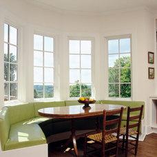 Farmhouse Kitchen by Granoff Architects