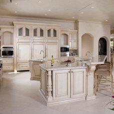 Mediterranean Kitchen by Richard Luke Architects P.C.