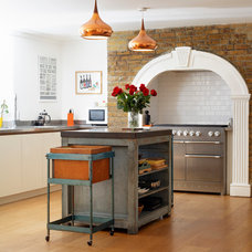 Eclectic Kitchen by Redesign London Limited