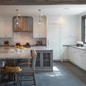 Barnwood Cape Cod Kitchen