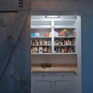 Barnwood Door Pantry