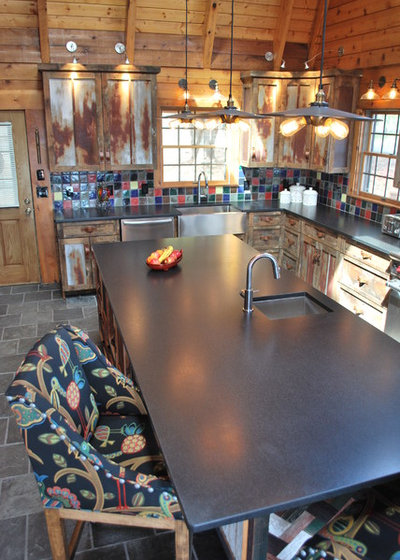 Beautiful Rustic Kitchen by KPD Interiors