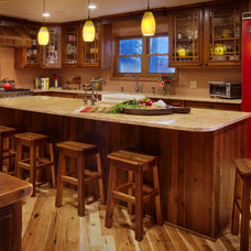 Traditional Kitchen by Roughing It In Style