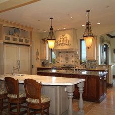 Mediterranean Kitchen by Hutchinson Design