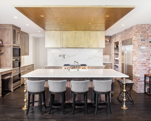 Top 30 Kitchen with Black Appliances Ideas Remodeling Photos Houzz