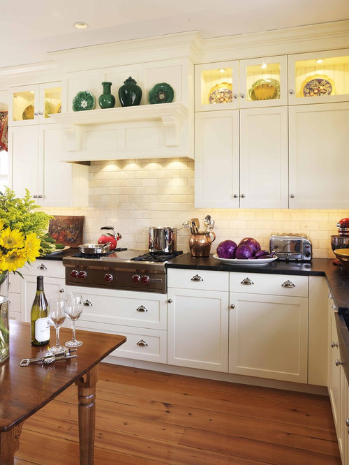 No upper cabinets houzz for Kitchen cabinets no doors