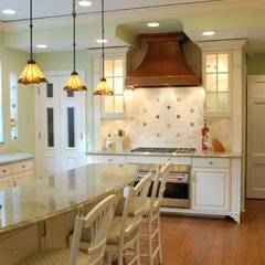 traditional kitchen by B. W. Interiors Chicago