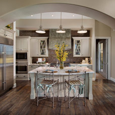 Transitional Kitchen by Luster Custom Homes