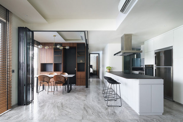 Contemporary Kitchen by Chark Private Limited