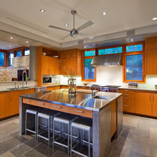 Contemporary Kitchen by Fine Focus Photography