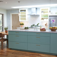 Mediterranean Kitchen by Tenney Construction