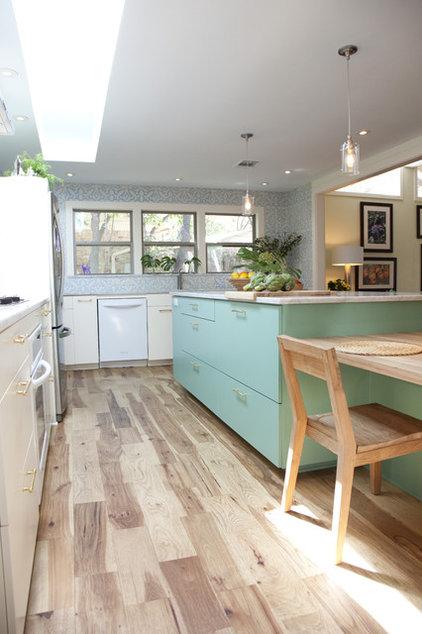 Mediterranean Kitchen by Tenney Construction
