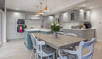 Barton on Sea refurbishment project; open plan kitchen/diner/lounge
