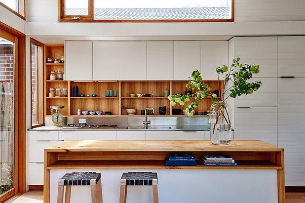 Beach Style Kitchen by Irons McDuff Architecture