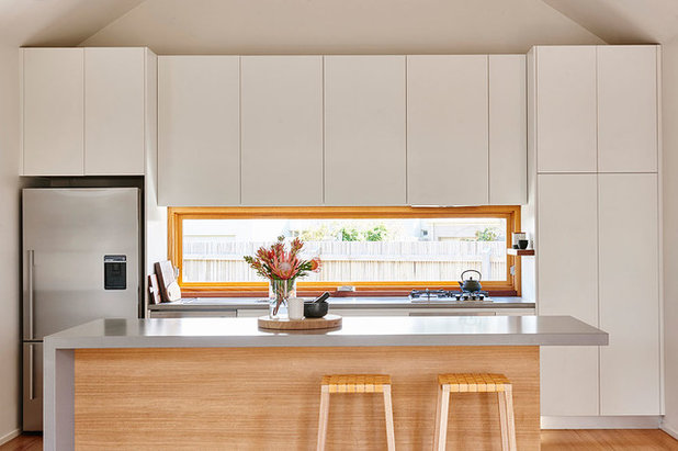 Beach Style Kitchen by Irons McDuff Architecture