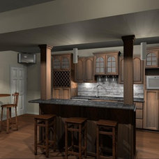 Mediterranean Kitchen by Plus Home Designs
