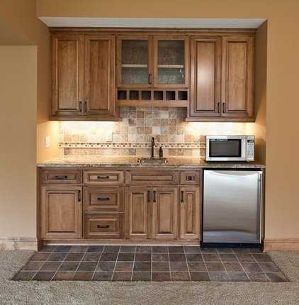 Traditional Kitchen by GreenWood Design Build