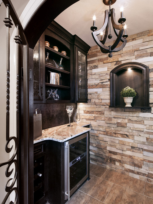 Stack Stone Accent Wall Houzz
