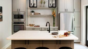 Basement kitchen decor