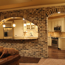 Eclectic Kitchen by Rusert Custom Homes