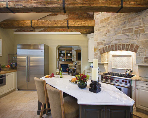 Tuscan Style Kitchen Houzz