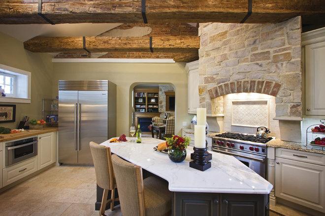 Mediterranean Kitchen by TrueLeaf Kitchens