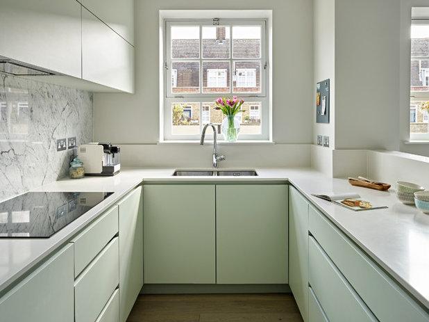 Modern Küche by Clare Gaskin Interiors