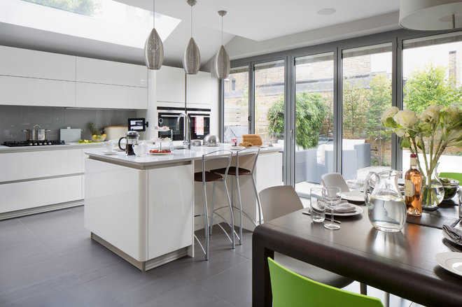 Contemporary Kitchen by Emma Green Design