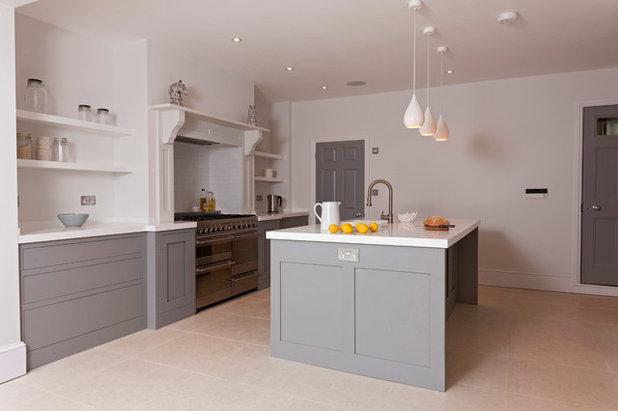 Transitional Kitchen by Higham Furniture