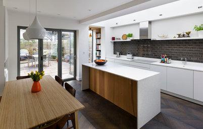11 Modern White Kitchens You'll Covet