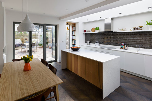 11 Modern White Kitchens You Ll Covet