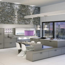 Contemporary Kitchen by BAUFORMAT
