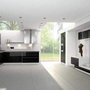 Bauformat Kitchens (Cube 130 Manhattan 613)